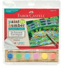 FABER-CASTELL Paint By Number Museum Series- The Japanese Footbridge