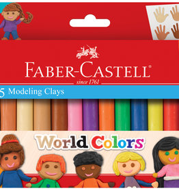 FABER-CASTELL World Colors 15ct Modeling Clay
