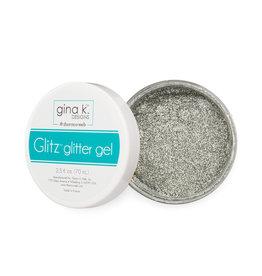 Therm-o-web Therm-o-web Gina K Designs Glitz Glitter Gel 2.3 oz Silver