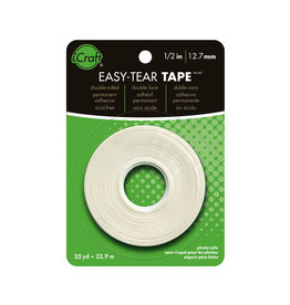 Therm-o-web Therm-o-web iCraft Easy-Tear Tape 1/2 in x 25 yd