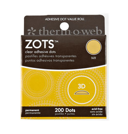 Therm-o-web Therm-o-web Zots  3D 200 Dots