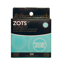 Therm-o-web Therm-o-web Zots  Removable Med 200 Dots