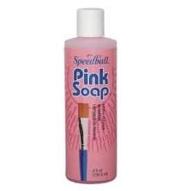 SPEEDBALL ART PRODUCTS Mona Lisa Pink Soap, 8 oz