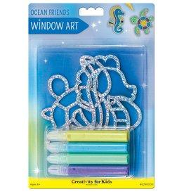 FABER-CASTELL Window Art Ocean Friends