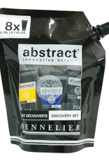 Sennelier Abstract Acrylic 8-Color Discovery Set