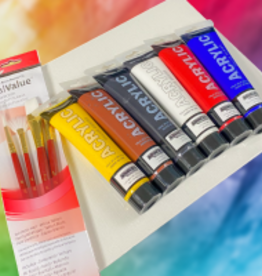 W.A. Portman Alzheimer's Charity Painting Kit