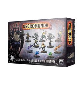 Games Workshop NECROMUNDA: ESCHER DEATH MAIDENS & WYLD RUNNERS