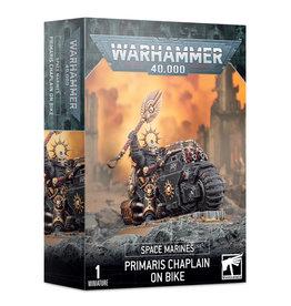Games Workshop Warhammer 40K SPACE MARINES: PRIMARIS CHAPLAIN ON BIKE