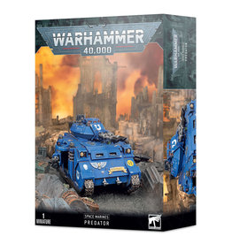 Games Workshop Warhammer 40,000 Space Marine Predator Plastic Kit