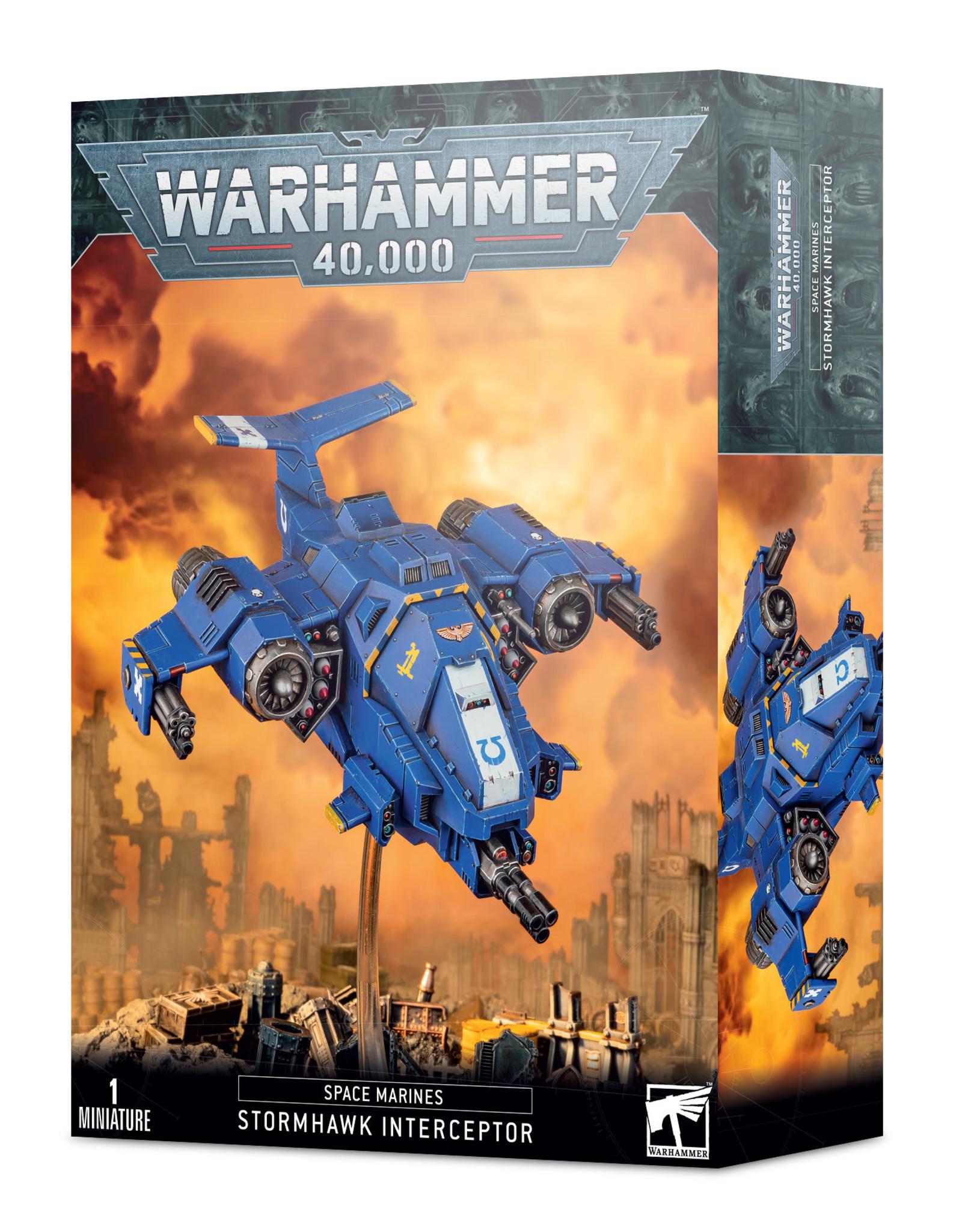 Games Workshop Warhammer 40k Space Marine Stormhawk Interceptor