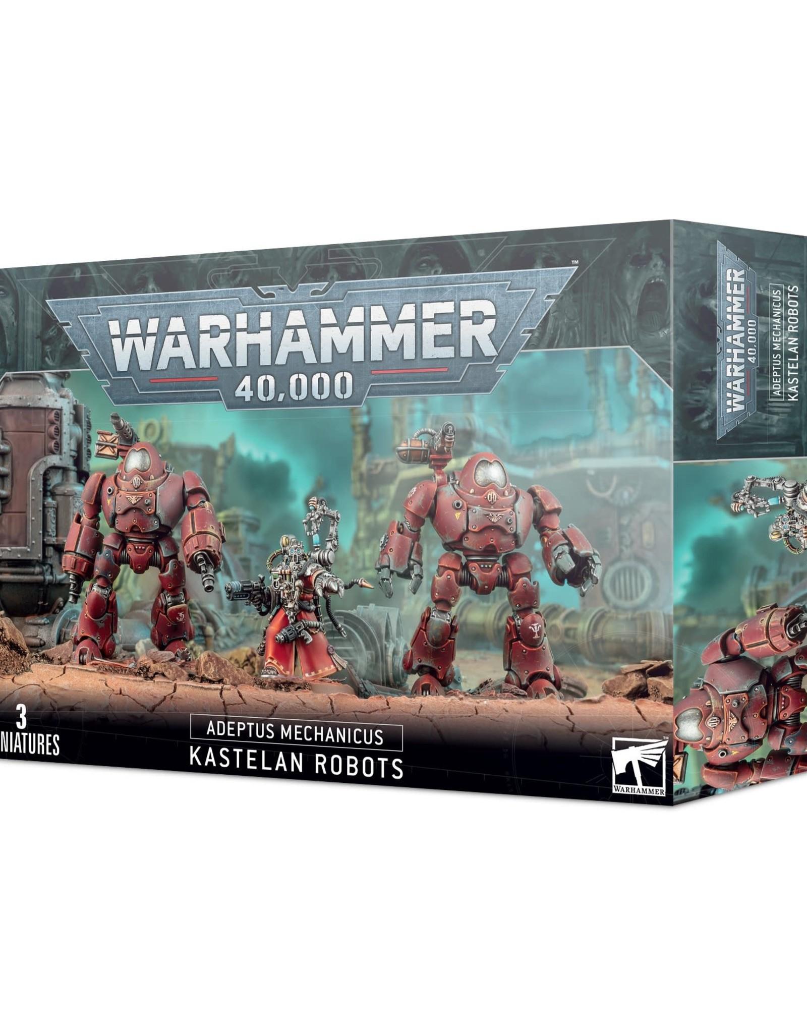 Games Workshop Warhammer 40k Adeptus Mechanicus Kastelan Robots