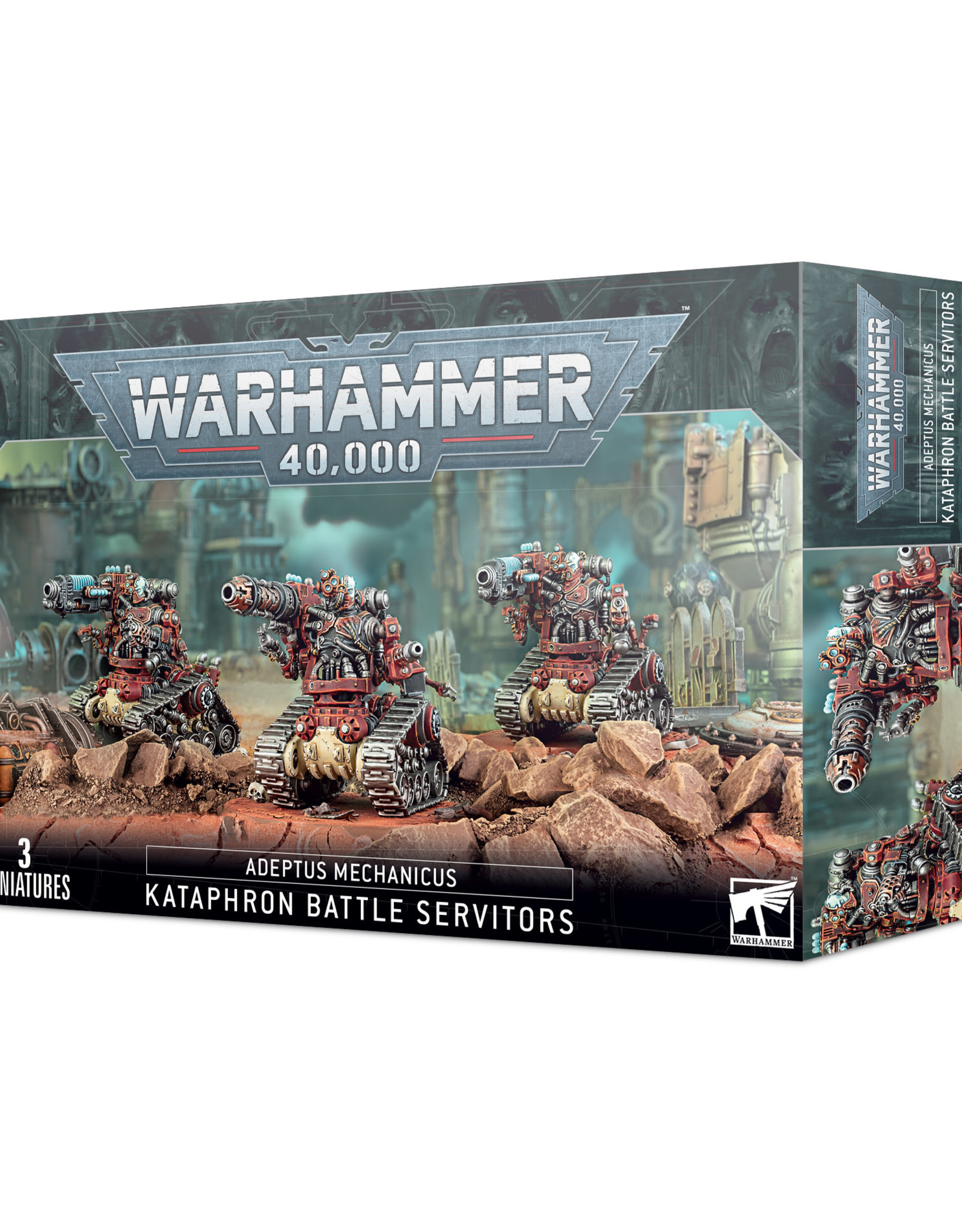 Games Workshop Warhammer 40K ADEPTUS MECH. KATAPHRON BATTLE SERVITORS