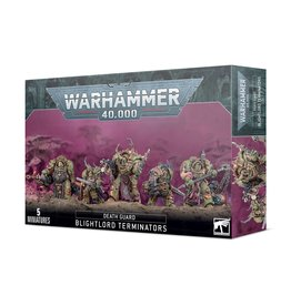 Games Workshop Warhammer 40K Death Guard Blightlord Terminators Miniature