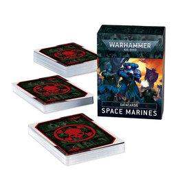 Games Workshop Warhammer 40K Space Marine Data cards