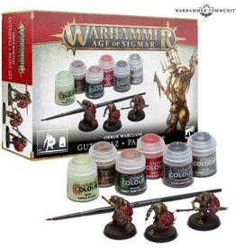 Games Workshop WARHAMMER AOS ORRUKS + PAINT SET