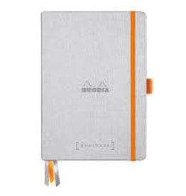 Rhodia Goalbook Hardcover A5 Silver