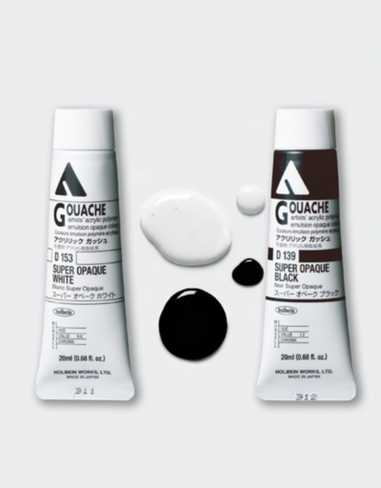 HOLBEIN AG40 Super Opaque White