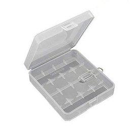 HARD PLASTIC 18650 4 BAY CASE