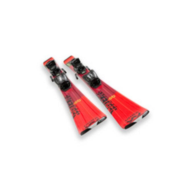 Volkl Racetiger Red + Marker VMotion 7 2020 - Junior
