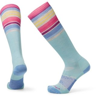 Darn Tough Darn Tough Glacier Stripe Light Cushion Ski Socks - Women's