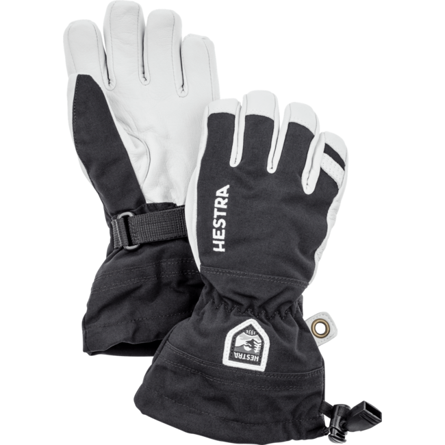 Hestra Army Leather Heli Ski Glove - Junior