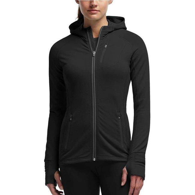 Icebreaker Quantum Full-Zip Hood Sweater - Women's