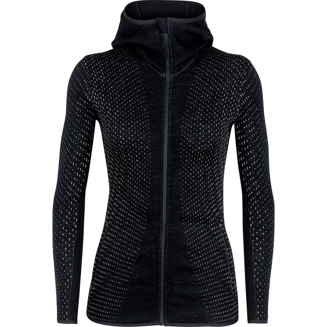 Icebreaker Elemental Full-Zip Hood - Women's