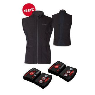 Lenz Lenz Heat Vest  (with Lithium Pack rcB 1800) - Men's