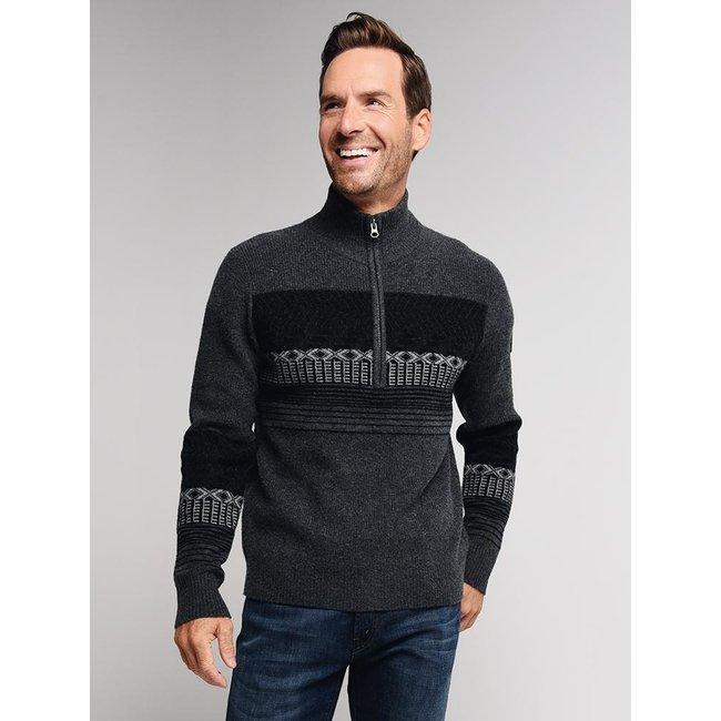 Obermeyer Textured Half-Zip Sweater - Men's