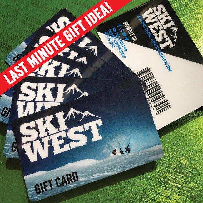 Ski West Gift Card
