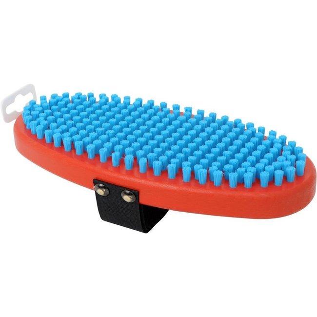 Swix Oval Fine Blue Nylon Brush