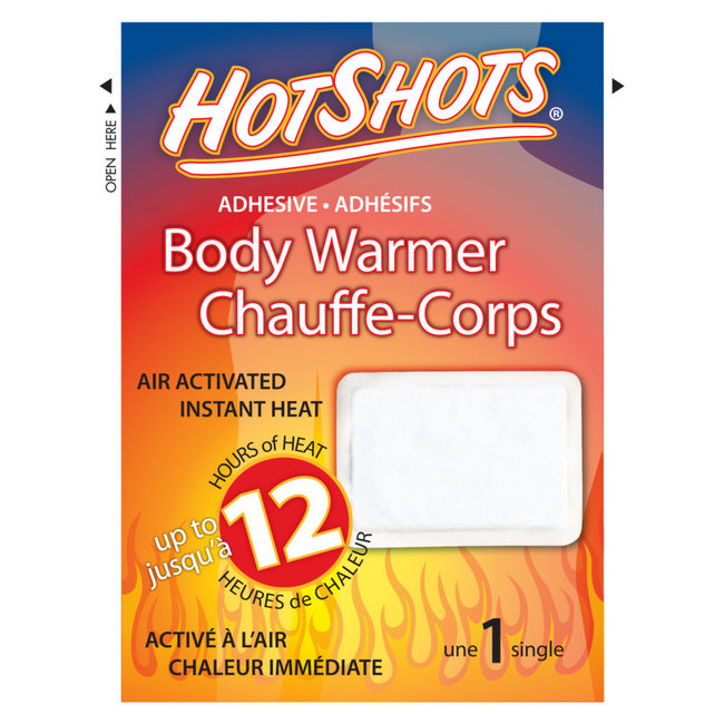 Hotshots Adhesive Body Warmer
