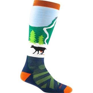 Darn Tough Darn Tough Pow Cow Midweight with Cushion Ski Socks - Junior