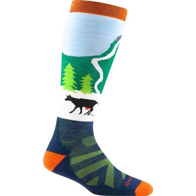 Darn Tough Pow Cow Midweight with Cushion Ski Socks - Junior