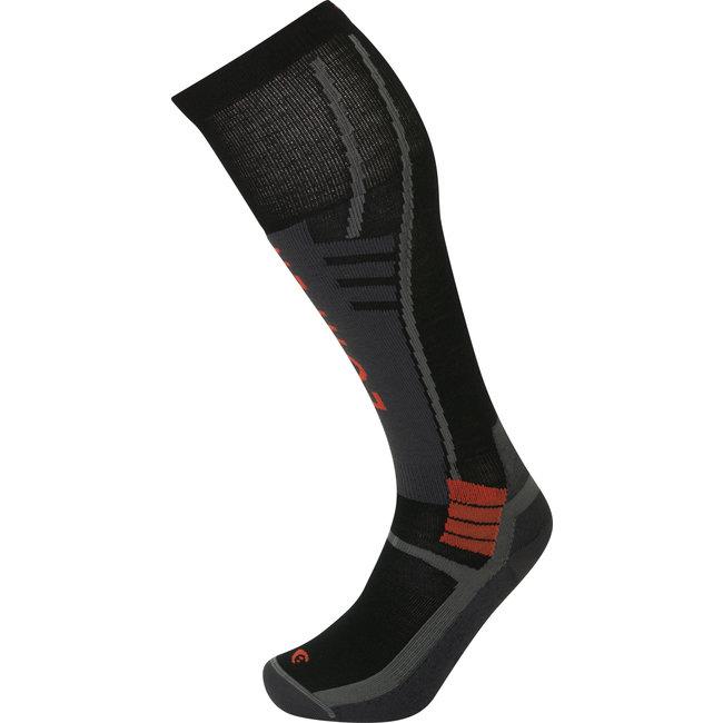 Lorpen T3 Ski Superlight Men's/ Unisex Ski Socks Black XL