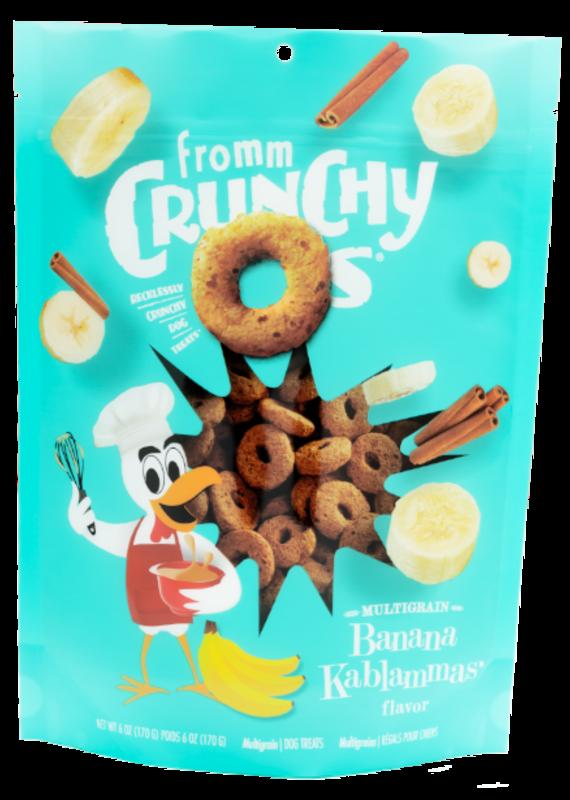 Fromm Family Pet Food Fromm Crunchy O's Banana Kablammas Dog Treats 6-oz