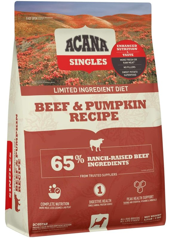 ACANA ACANA Singles Beef & Pumpkin Recipe Dry Dog Food