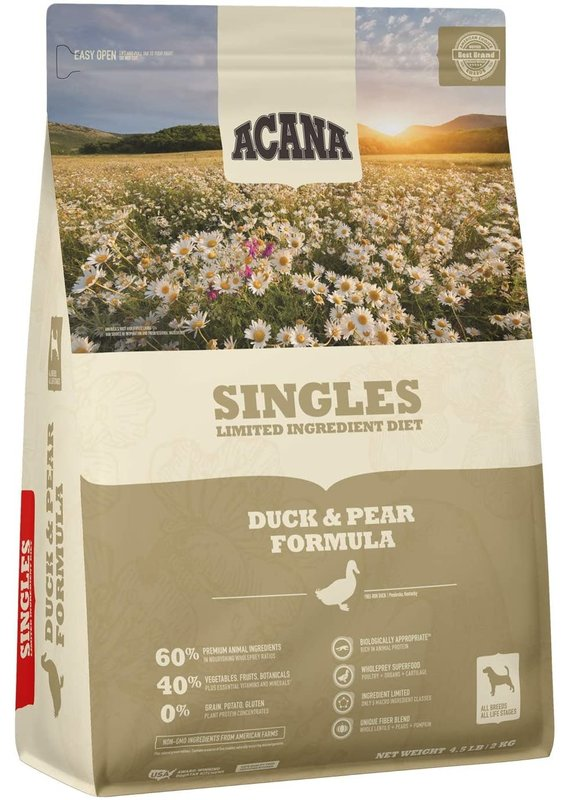 ACANA ACANA Singles Duck & Pear Recipe Dry Dog Food