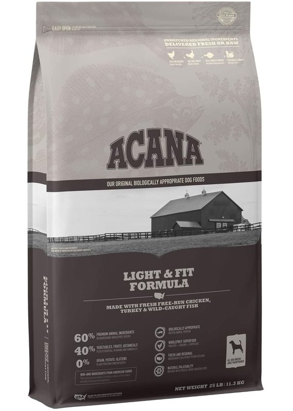 ACANA ACANA Light & Fit Formula Dry Dog Food
