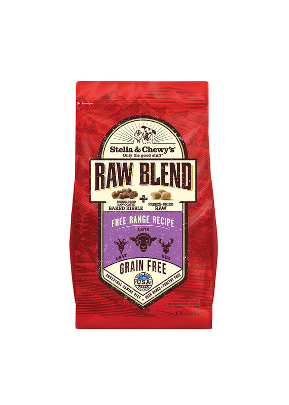 Stella & Chewy's Stella & Chewy's Raw Blend Kibble Free Range Recipe Dry Dog Food