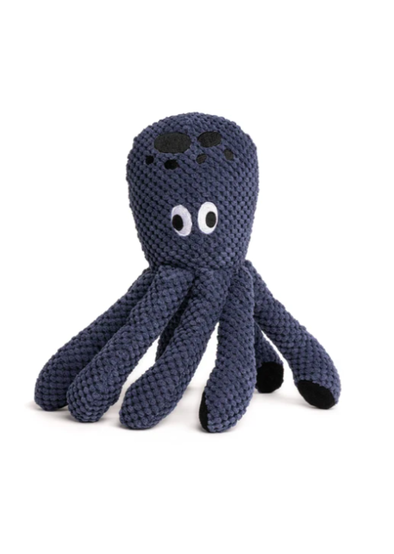 Fabdog Fabdog Floppy Octopus Ink Plush Dog Toy