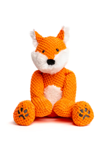 Fabdog Fabdog Floppy Fox Plush Dog Toy