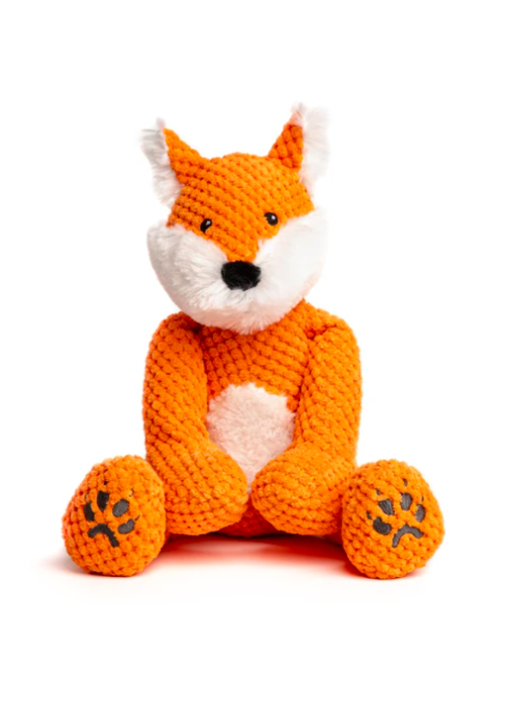 Fabdog Fabdog Floppy Fox Plush Dog Toy