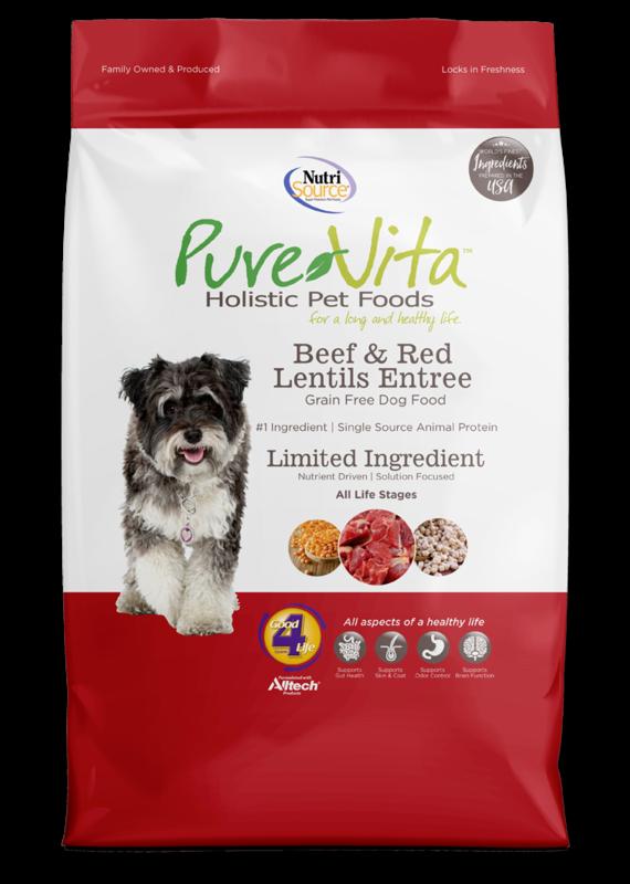 Pure Vita Pure Vita Beef & Red Lentils Entree Dry Dog Food