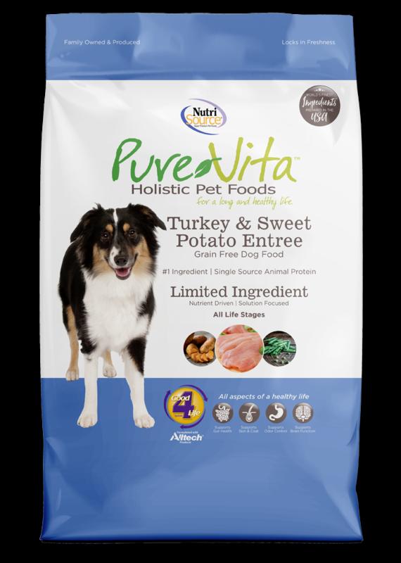 Pure Vita Pure Vita Turkey & Sweet Potato Entree Dry Dog Food