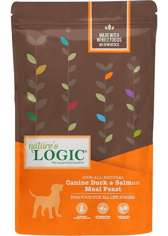 Nature's Logic Nature's Logic Canine Duck & Salmon Meal Feast Dry Dog Food