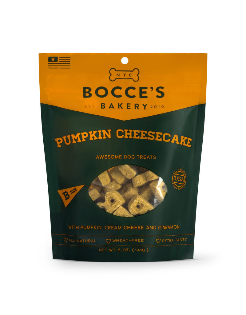 Bocce's Bakery Bocce's Bakery Pumpkin Cheesecake Dog Biscuits Treats 5-oz