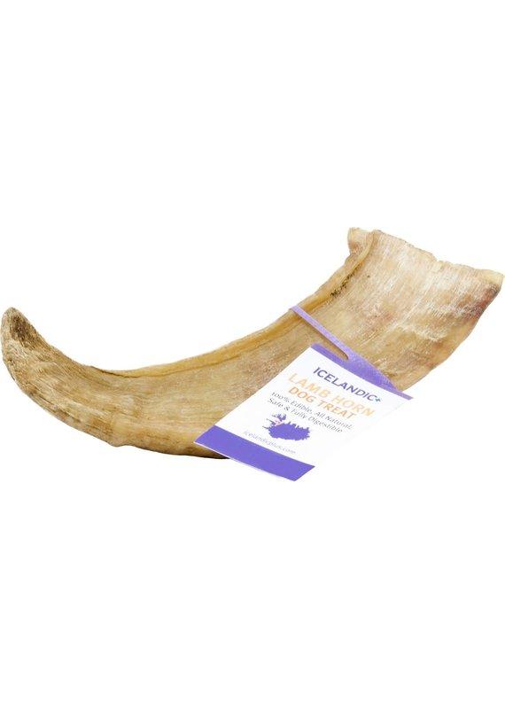 Icelandic+ Icelandic+ Medium Lamb Horn Dog Chew Treat