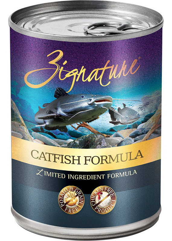 Zignature Zignature Limited Ingredient Catfish Formula Canned Wet Dog Food 13-oz