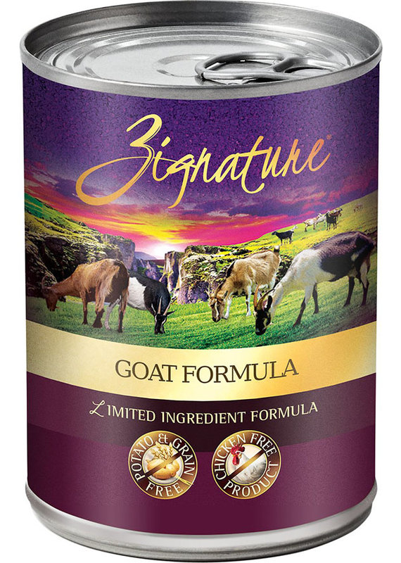 Zignature Zignature Limited Ingredient Goat Formula Canned Wet Dog Food 13-oz